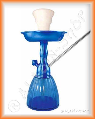 Vodní dýmka King Gooza 23cm safírová modř