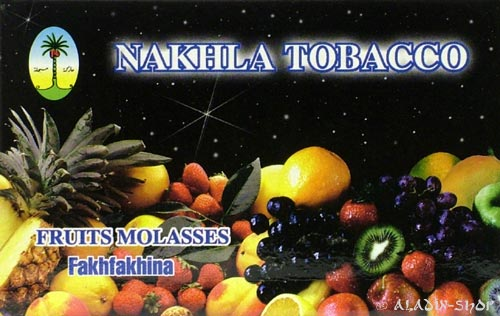Tabák do vodní dýmky Ovocný mix černý Nakhla 50g