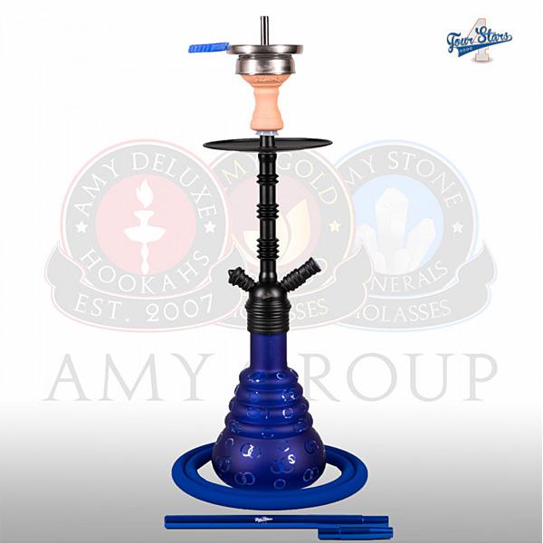 Vodní dýmka 4-Stars 460 45 cm blue RS black powder