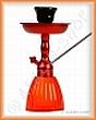 Vodní dýmka KING Gooza 23 cm červená rubínová