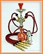 Vodní dýmka Aladin 23/4 červená (pruh)