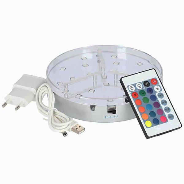 LED podstavec AO Hookah ECLIPSE 15 cm