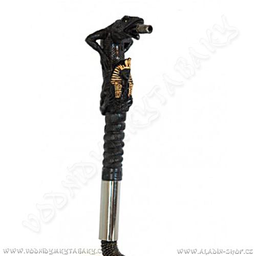 Hadice pro vodní dýmky Lizard velká 205cm černá