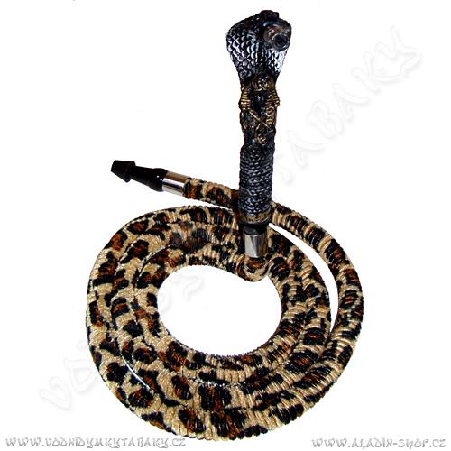 Hadice pro vodní dýmky Cobra 190cm zvířecí