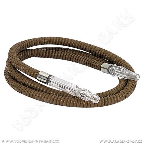 Hadice pro vodní dýmky Remo 864 150 cm sv hnědá