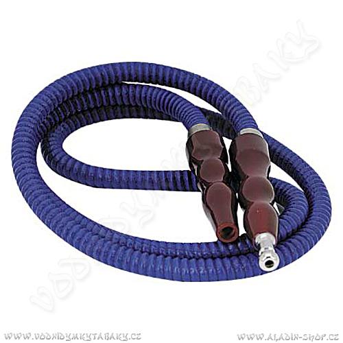 Hadice pro vodní dýmky Remo Pumpkin 100 cm modrá