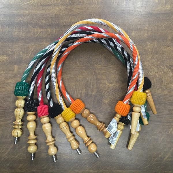 Hadice pro vodní dýmky Top Mark Ansa 80 cm oranžová