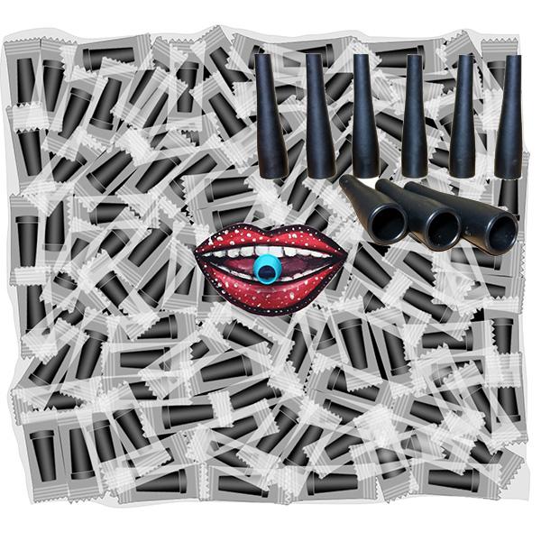 Balení hygienických náustků SmokyTwo 5,2 cm zasouvací 100ks