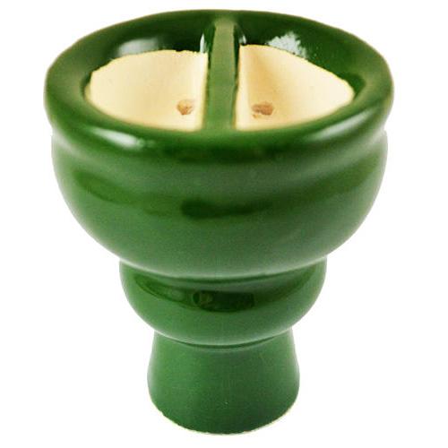 Korunka pro vodní dýmky Sadika půlená zelená