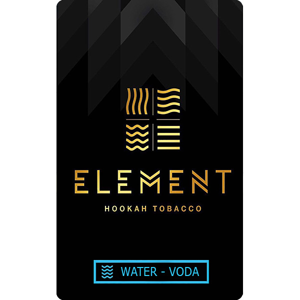 Tabák Element Water Belgian wffl 100 g