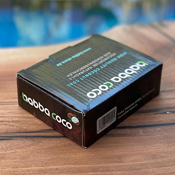 Uhlíky do vodní dýmky BABBA COCO 12 ks