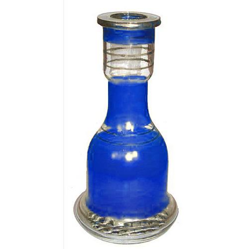 Váza pro vodní dýmky Top Mark 30 cm Fateh modrá