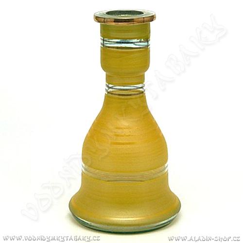 Váza pro vodní dýmky Top Mark 26 cm Heket žlutá