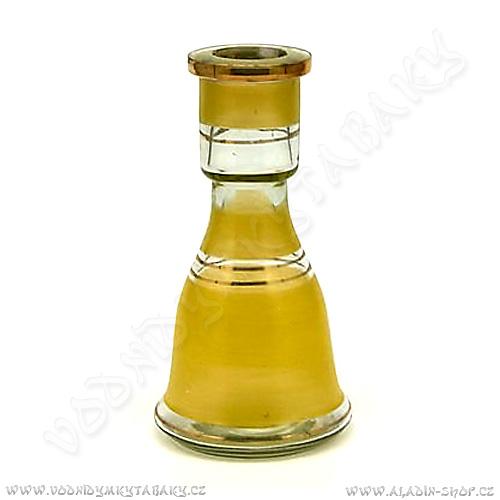 Váza pro vodní dýmky Top Mark 22 cm Sokar žlutá
