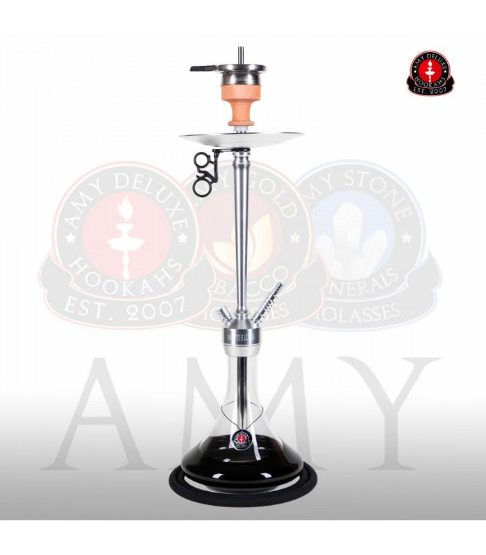Vodní dýmka AMY Alu Deluxe 066-01 alu - black