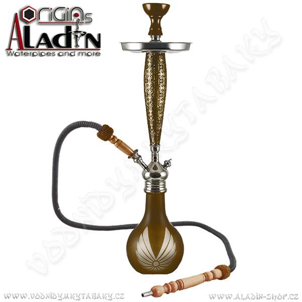 Vodní dýmka Aladin Bangkok II 69 cm hnědá
