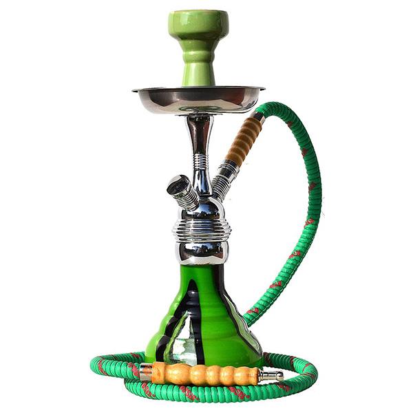 Vodní dýmka Hypnosis 36 cm zelená