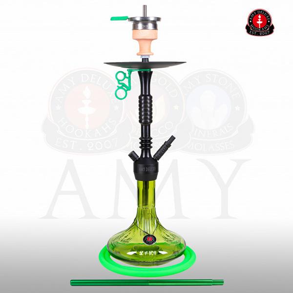 Vodní dýmka AMY Alu Claw 085-01 green RS black