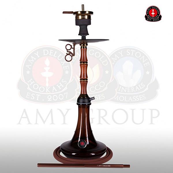 Vodní dýmka AMY Bamboo 113.01 brown