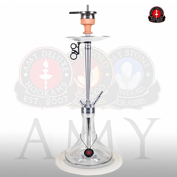 Vodní dýmka AMY Alu Deluxe 066-01 alu - clear