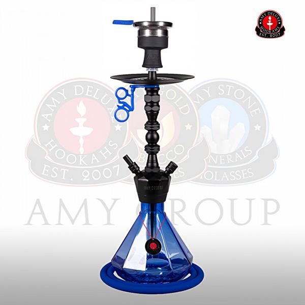 Vodní dýmka AMY Alu Diamond S 062 black blue