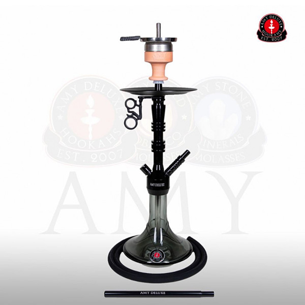 Vodní dýmka Amy Alu Lima S 069-02 black black