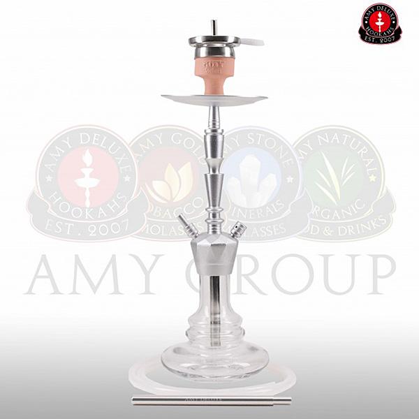 Vodní dýmka AMY Alu-X S 064 - alu clear