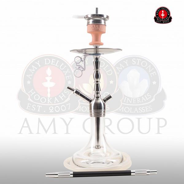 Vodní dýmka AMY Little Hammer SS10 - clear