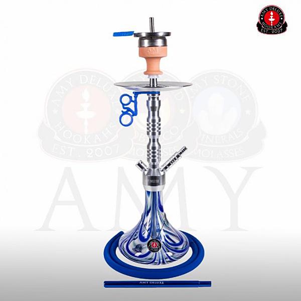Vodní dýmka Amy Alu Sierra S 073-02 alu blue