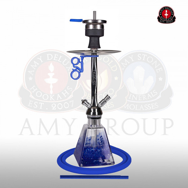 Vodní dýmka Amy I need you Rainbow 038RN blue RS nickle