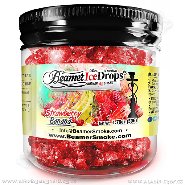 Beamer Ice Drops 50 g Jahoda a Banán