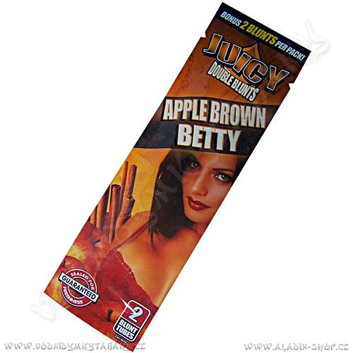 Tabákový list Juicy Blunt Apple Brown Betty