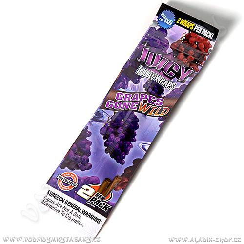 Tabákový list Juicy Blunt Grapes Gone Wild