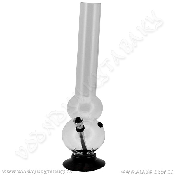 Bong acrylic AT033C čirá 32 cm
