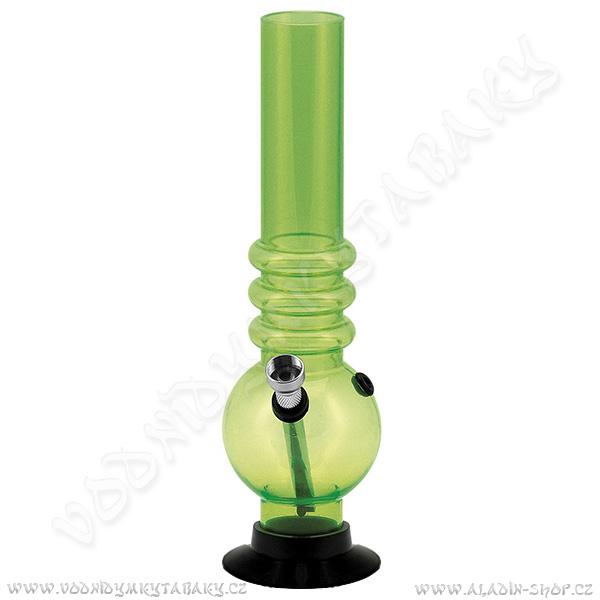 Bong acrylic AT019G zelená 26 cm