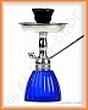 Vodní dýmka KING Gooza 23 cm Silver safírová modř