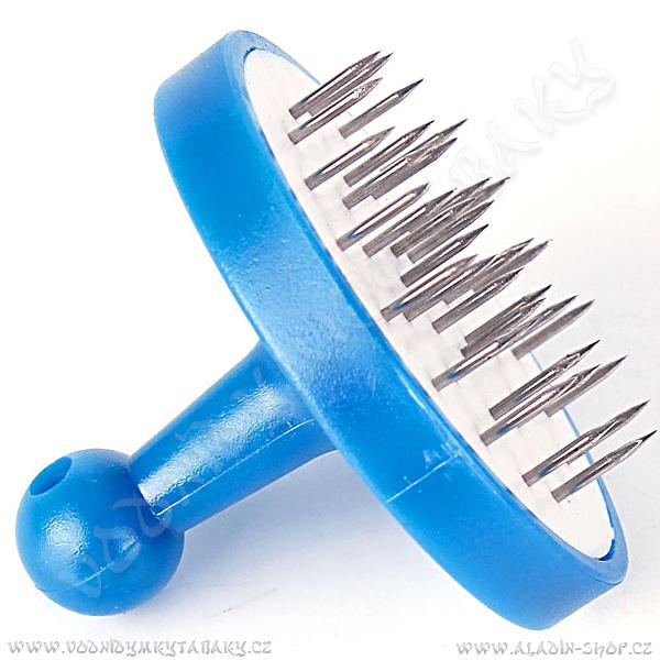 Děrovač na alobal pro vodní dýmky modrý