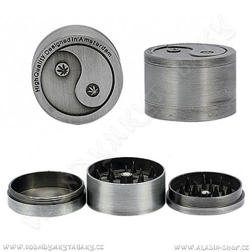 Drtička kovová AT271 Jing Jang 4 cm 3-dílná