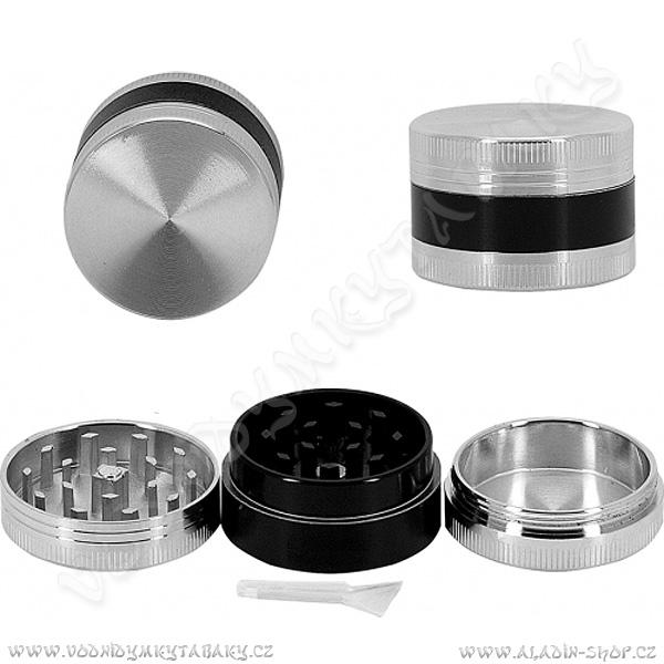 Drtička kovová AT006 4 cm 3-dílná