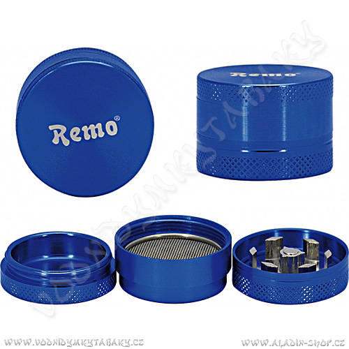 Drtička kovová AT133 3 cm 3-dílná modrá