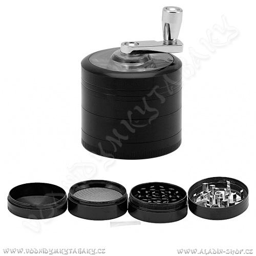 Drtička kovová AT261 ∅5,5 cm 4-dílná mlýnek