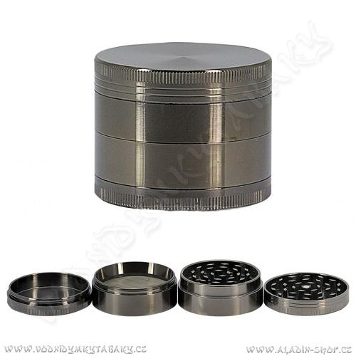 Drtička kovová AT234 dark 5,5 cm 4-dílná