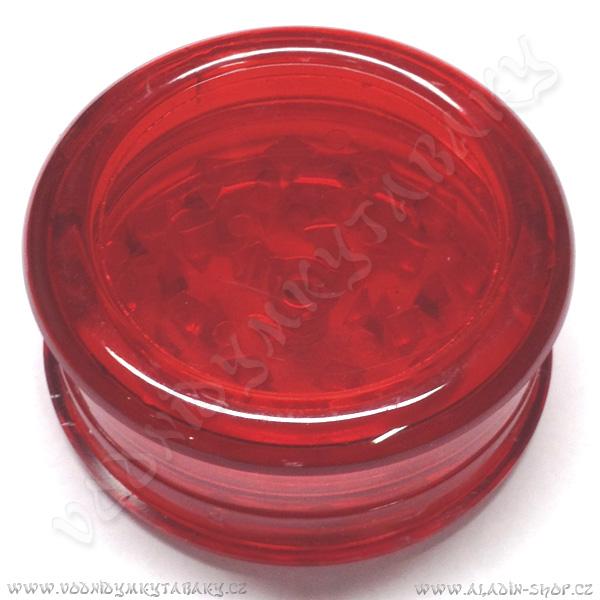 Drtička plastová Magnetic červená 3 části 6 cm