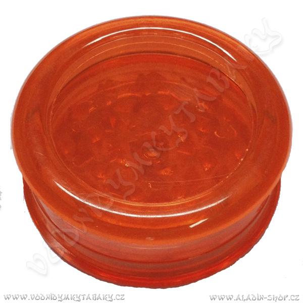 Drtička plastová Magnetic oranžová 3 části 6 cm