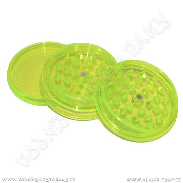 Drtička plastová Buddies 6 cm zelená