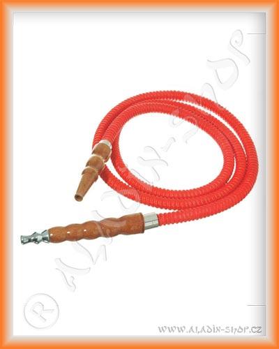 Hadice pro vodní dýmky MYA premium 180cm červená