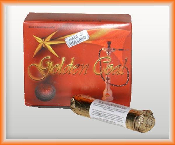 Uhlíky do vodní dýmky Golden Coal 33 mm
