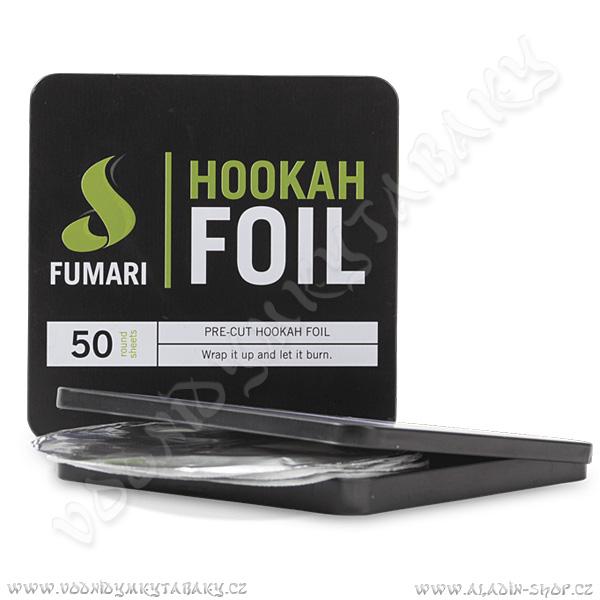 Fólie na korunku pro vodní dýmky Fumari 50 ks