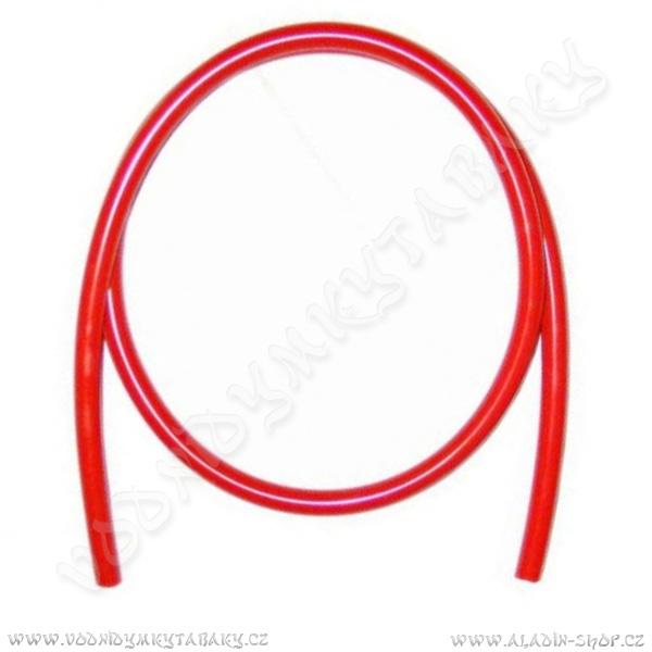 Hadice silikonová Aladin 16/11 145 cm červená