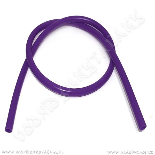 Hadice pro vodní dýmky silikonová 150 cm fialová